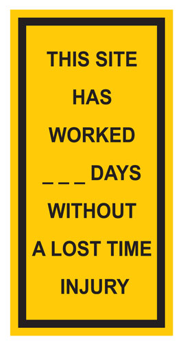 Workplace Safety Sign